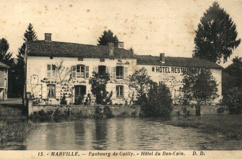 Marville (Meuse) Gauilly, hôtel-restaurant