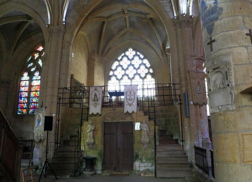 Marville (Meuse) L'église Saint Nicolas, chapelle Ste Fine