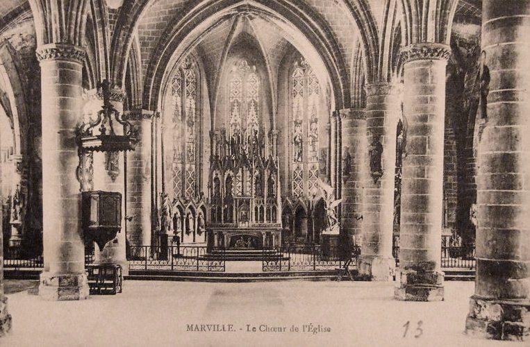 Marville (Meuse) L'église Saint Nicolas CPA