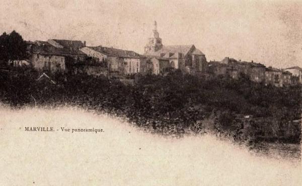 Marville (Meuse) Vue générale 1900