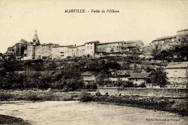Marville (Meuse) Vue générale CPA