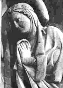 Mathilde de Saxe, sa seconde épouse