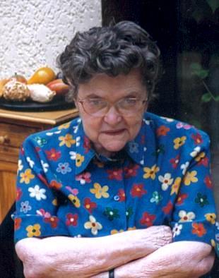 Le Perreux-sur-Marne : Denise Mayer, épouse André Soudan, décès en 2000