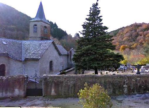 Mélagues (Aveyron) Eglise Saint Martin