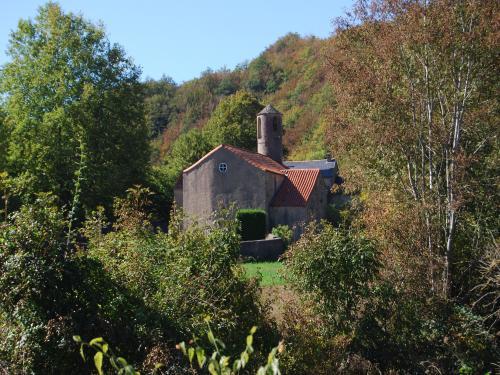 Mélagues (Aveyron) Saint-Pierre-des-Cats, chapelle