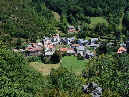 Mélagues (Aveyron) Vue générale