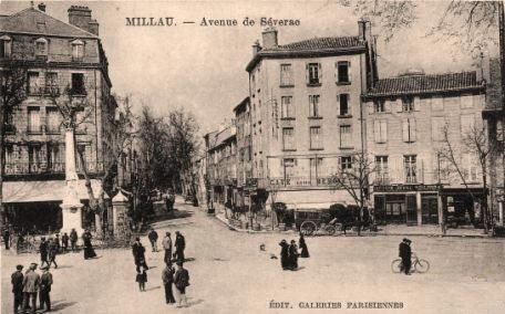 Millau (Aveyron) CPA avenue de Séverac