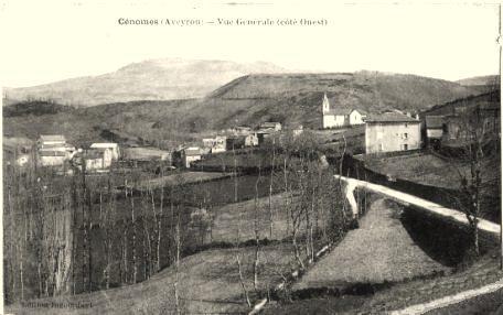 Montagnol (Aveyron) CPA Cénomes en 1933