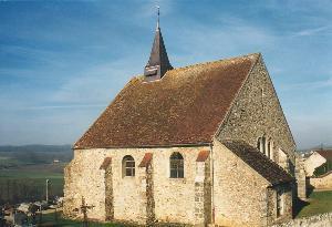 Montfaucon (Aisne) Eglise Saint Antoine