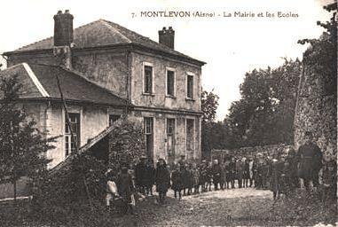 Montlevon (Aisne) CPA La Mairie les Ecoles