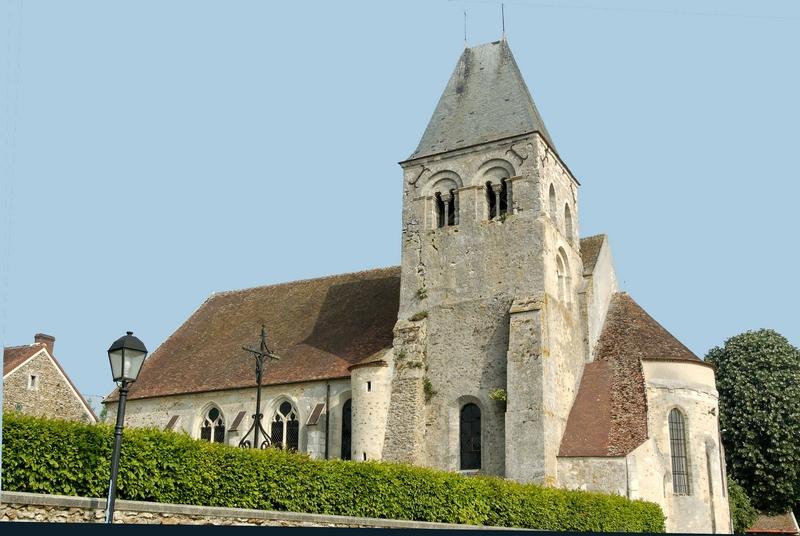 Montlevon (Aisne) L'église Saint Martin