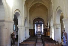 Montlevon (Aisne) L'église Saint Martin intérieur