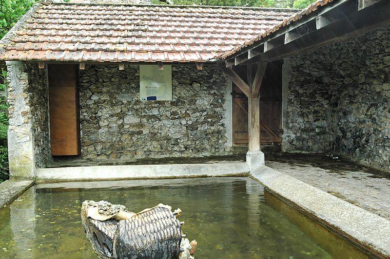 Montlevon (Aisne) un lavoir