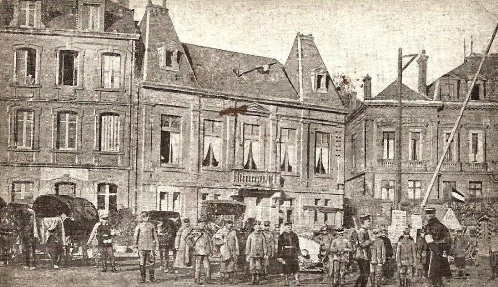 Montmédy (Meuse) en août 1914