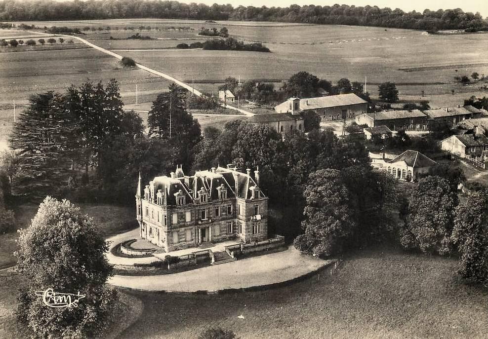 Montmédy (Meuse) Fresnois, le château CPA