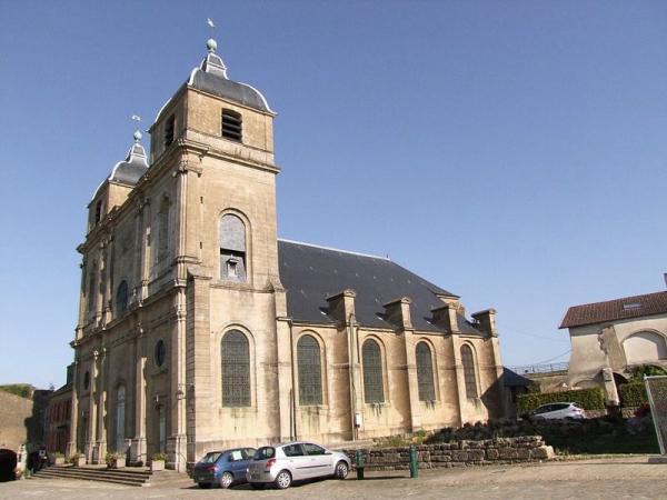 Montmédy (Meuse) L'église Saint Martin de Montmédy-le-Haut