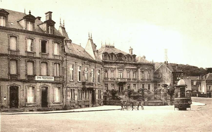 Montmédy (Meuse) Un café-restaurant