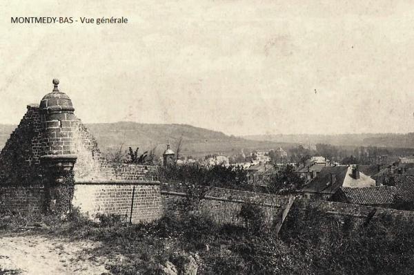 Montmédy (Meuse) Une échauguette CPA