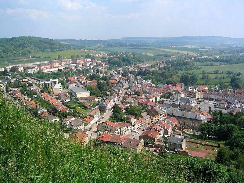 Montmédy (Meuse) Vue générale