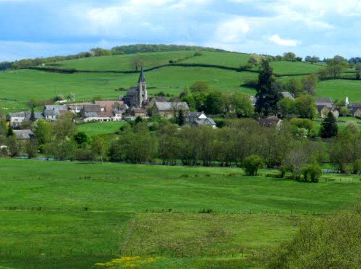Montreuillon (Nièvre) Vue générale