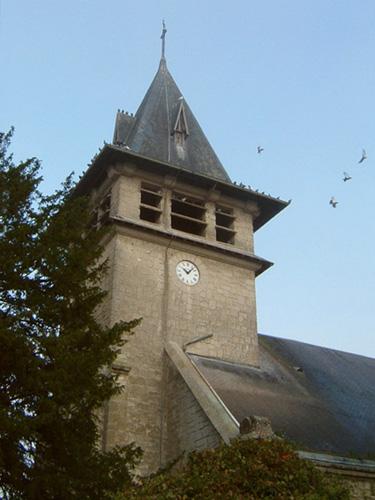Moulins (Aisne) Eglise Saint Pierre