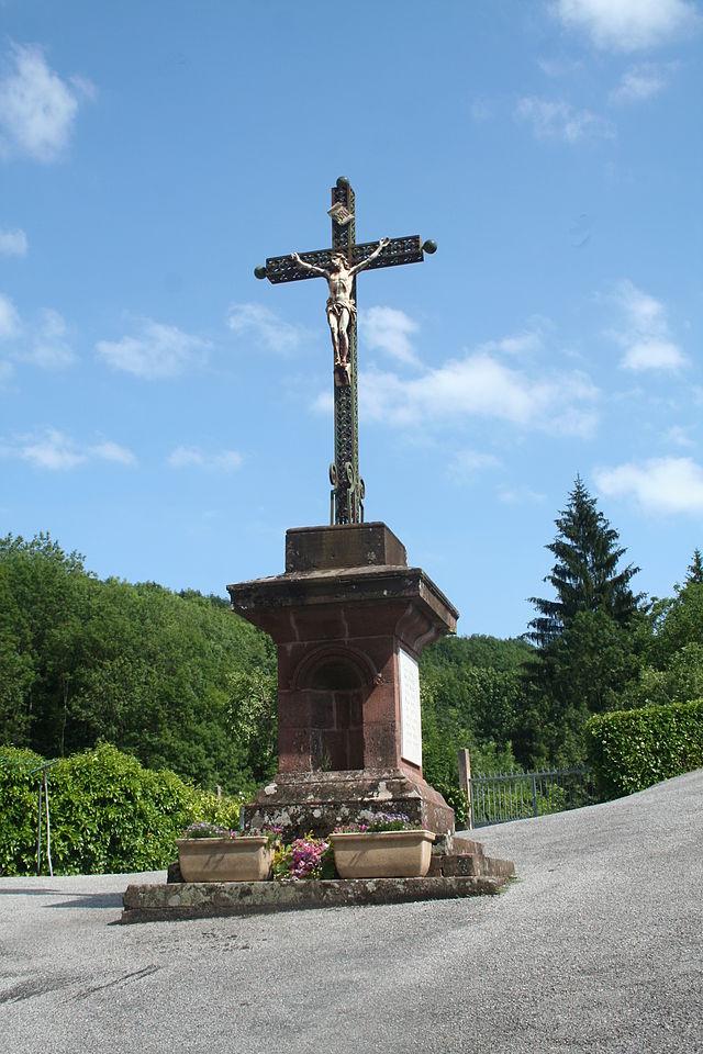 Mounes-Prohencoux (Aveyron) Calvaire