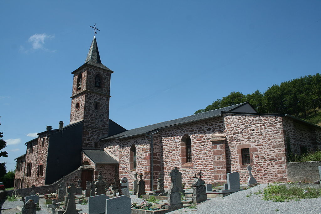Mounes-Prohencoux (Aveyron) Turipi, église Saint-Martin