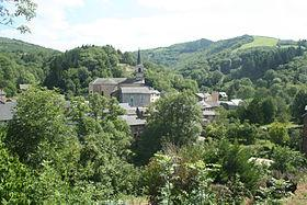 Mounes-Prohencoux (Aveyron) Vue générale
