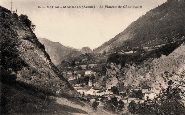 Moûtiers (Savoie) Champonlet