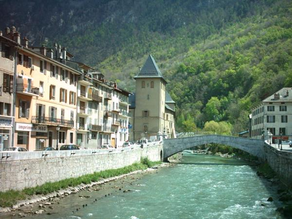 Moûtiers (Savoie) L'Isère