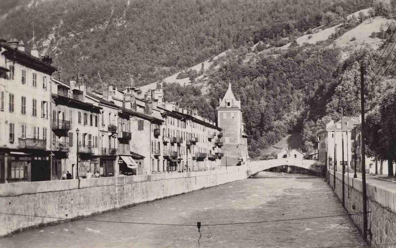 Moûtiers (Savoie) L'Isère CPA