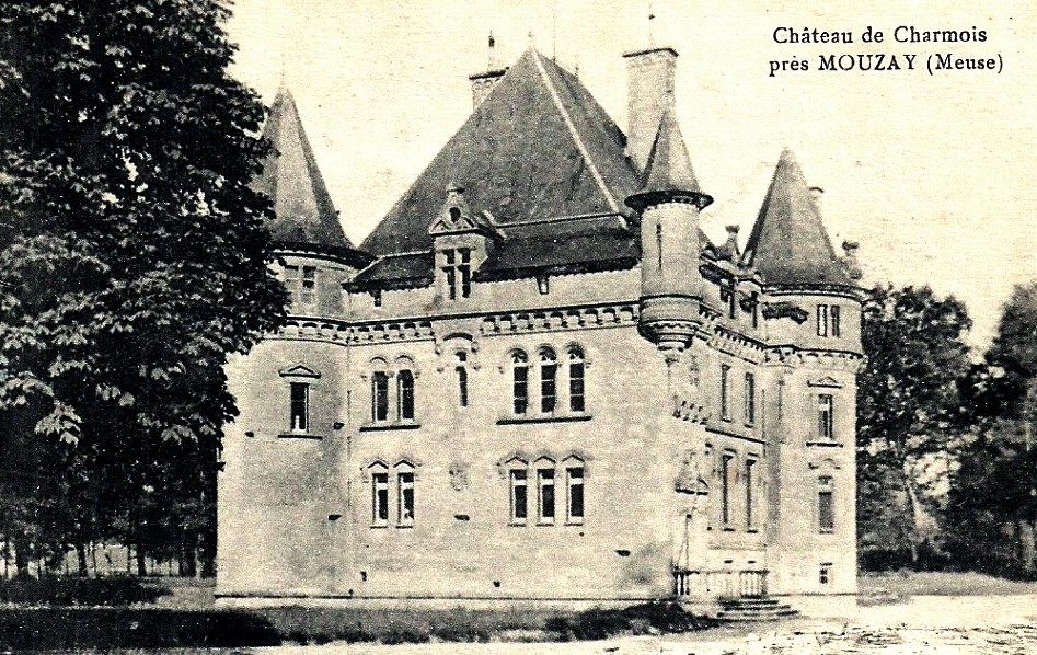 Mouzay (Meuse) Charmois, le château CPA