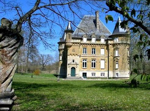 Mouzay (Meuse) Charmoy, le château