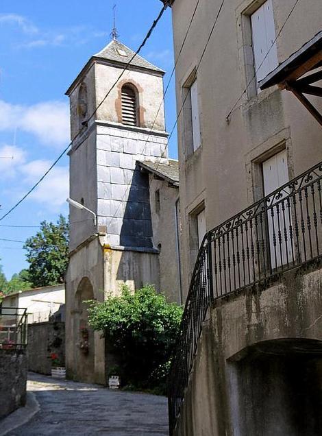 Murat-sur-Vèbre (Tarn) Boissezon, église