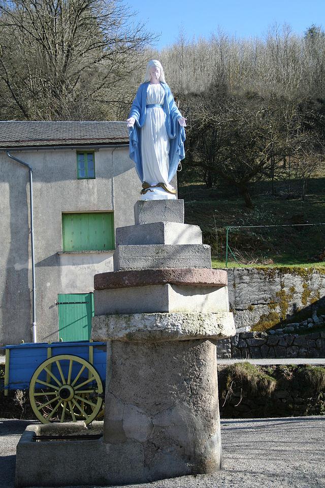 Murat-sur-Vèbre (Tarn) Boissezon, la Vierge