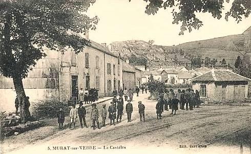 Murat-sur-Vèbre (Tarn) CPA Castelas