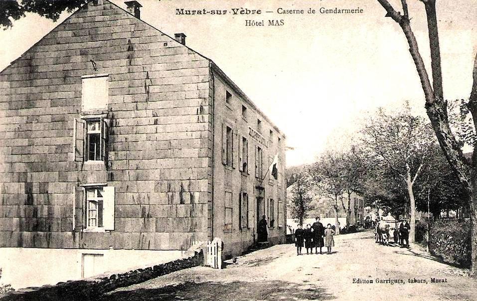 Murat-sur-Vèbre (Tarn) CPA Gendarmerie