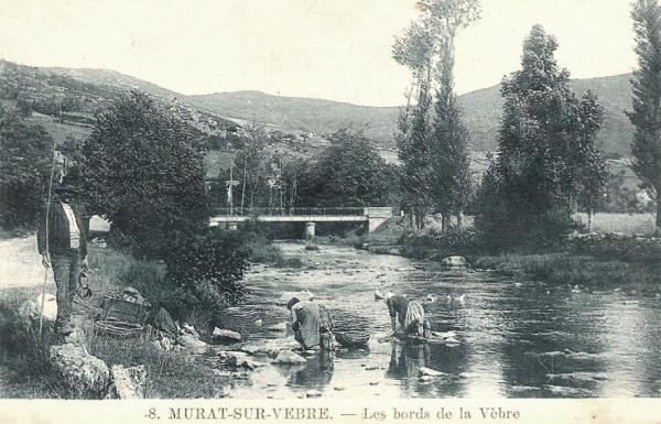 Murat-sur-Vèbre (Tarn) CPA Lavandières sur la Vèbre