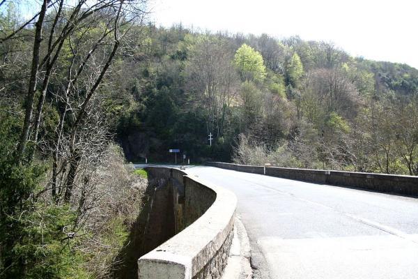 Murat-sur-Vèbre (Tarn) Pont mouline