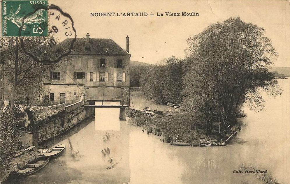 Nogent l'Artaud (Aisne) CPA Vieux moulin