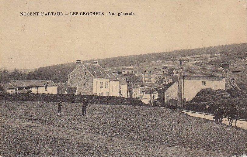 Nogent l'Artaud (Aisne) CPA les Crochets