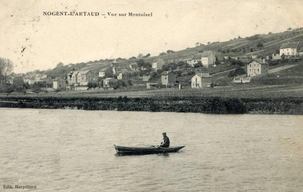 Nogent l'Artaud (Aisne) CPA Montoisel