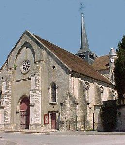 Nogent l'Artaud (Aisne) Eglise Saint Germain en 2004