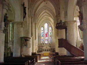 Nogent l'Artaud (Aisne) Eglise Saint Germain intérieur