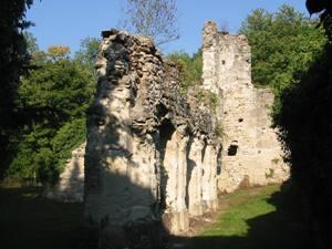 Nogent l'Artaud (Aisne) Abbaye royale Sainte Claire ruines