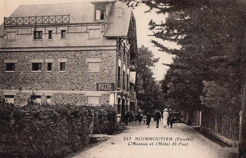 Noirmoutier-en-l'Ile (Vendée) Hôtel Saint Paul CPA