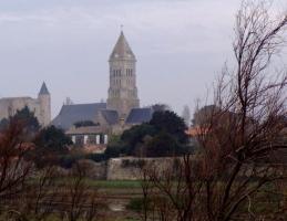 Noirmoutier-en-l'Ile (Vendée) L'église Saint Philbert en 2014