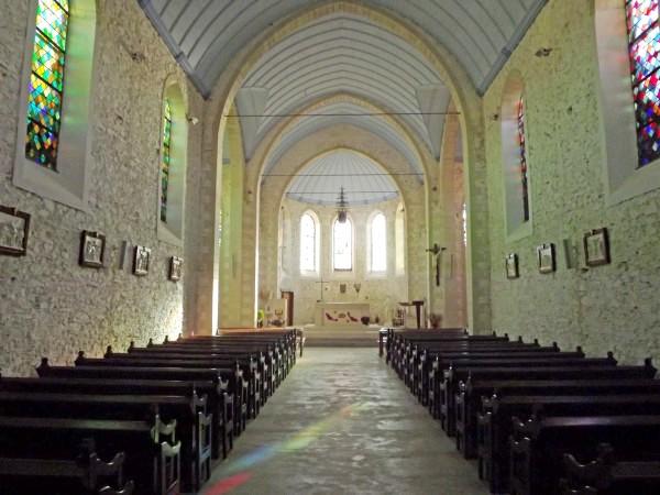 Noirmoutier-en-l'Ile (Vendée) L'Herbaudière, église du Sacré-Coeur