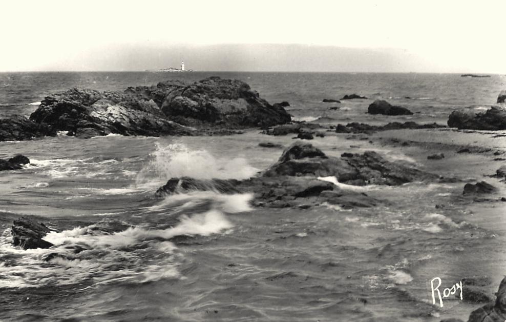 Noirmoutier-en-l'île (Vendée) L'Herbaudière et le Pilier au loin CPA