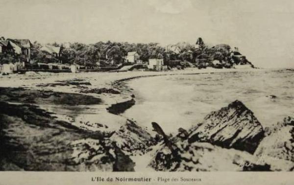 Noirmoutier-en-l'île (Vendée) Plage des Souzeaux CPA